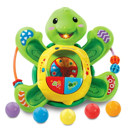 Vtech Electronic Ball - VTech Pop-a-Balls - Twirl & Pop Turtle
