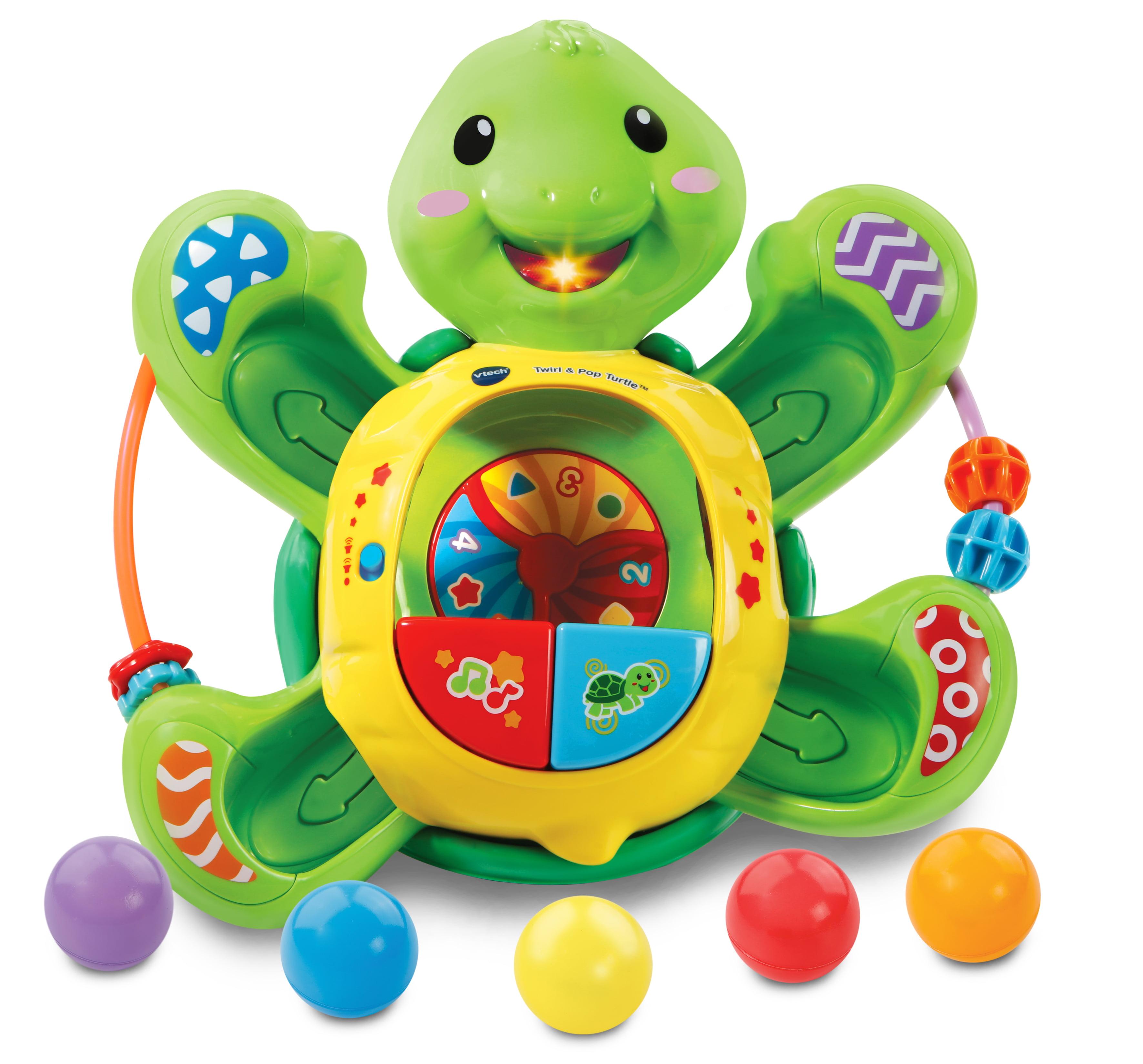 VTech Pop-a-Balls - Twirl & Pop Turtle