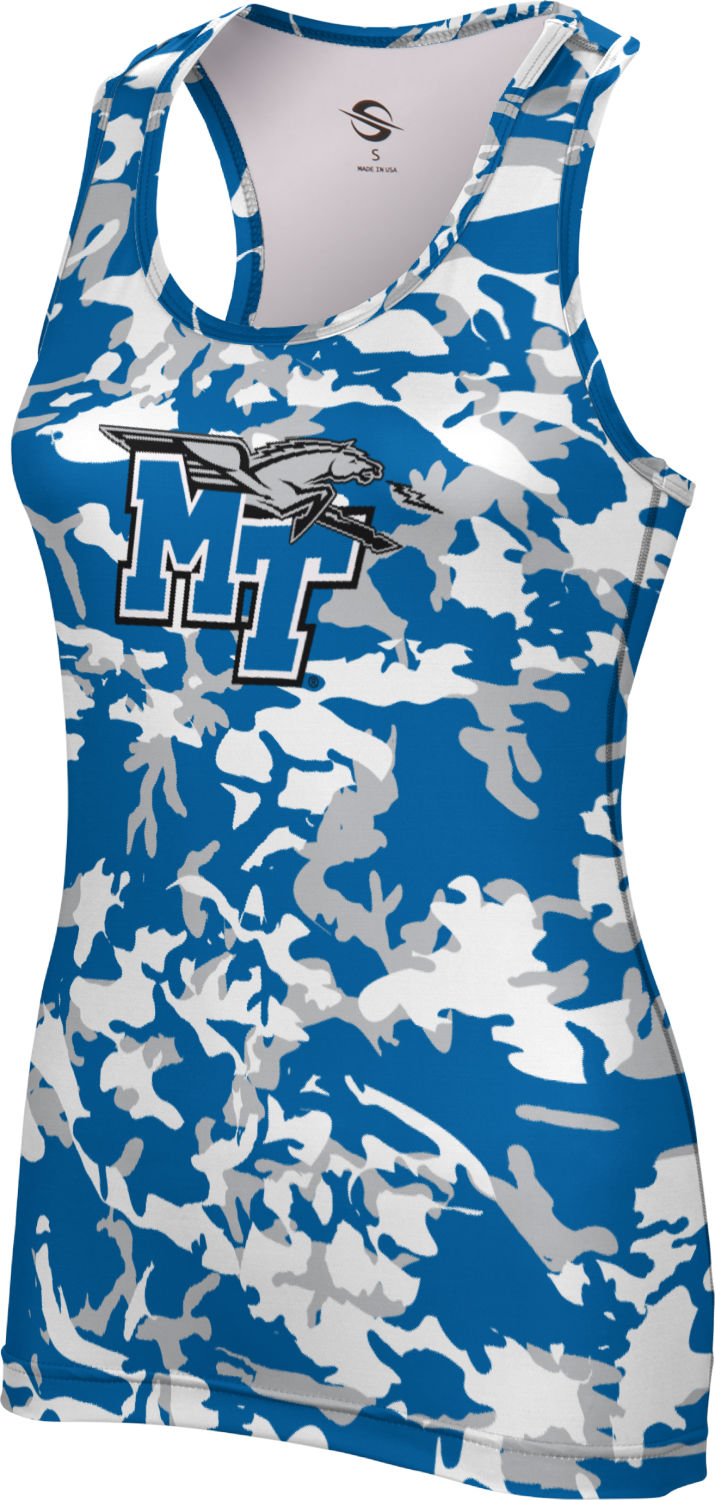 ProSphere Women's Middle Tennessee State University Camo Performance Tank by