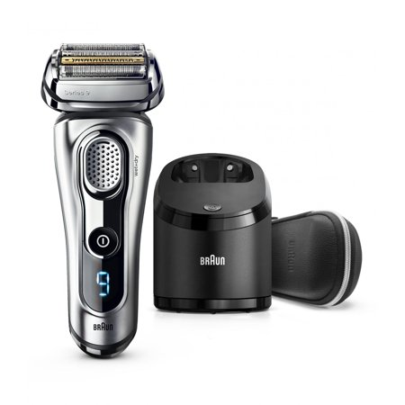 Braun Series 9 9290cc Men's Electric Foil Shaver, Wet and Dry Razor with Clean & Charge