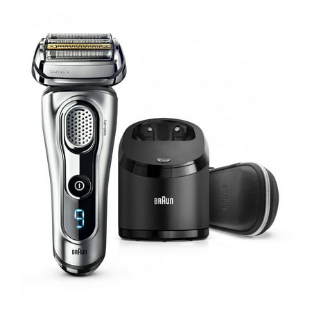 Braun Series 9 9290cc Men's Electric Foil Shaver, Wet and Dry Razor with Clean & Charge Station (Braun Shaver Corded)