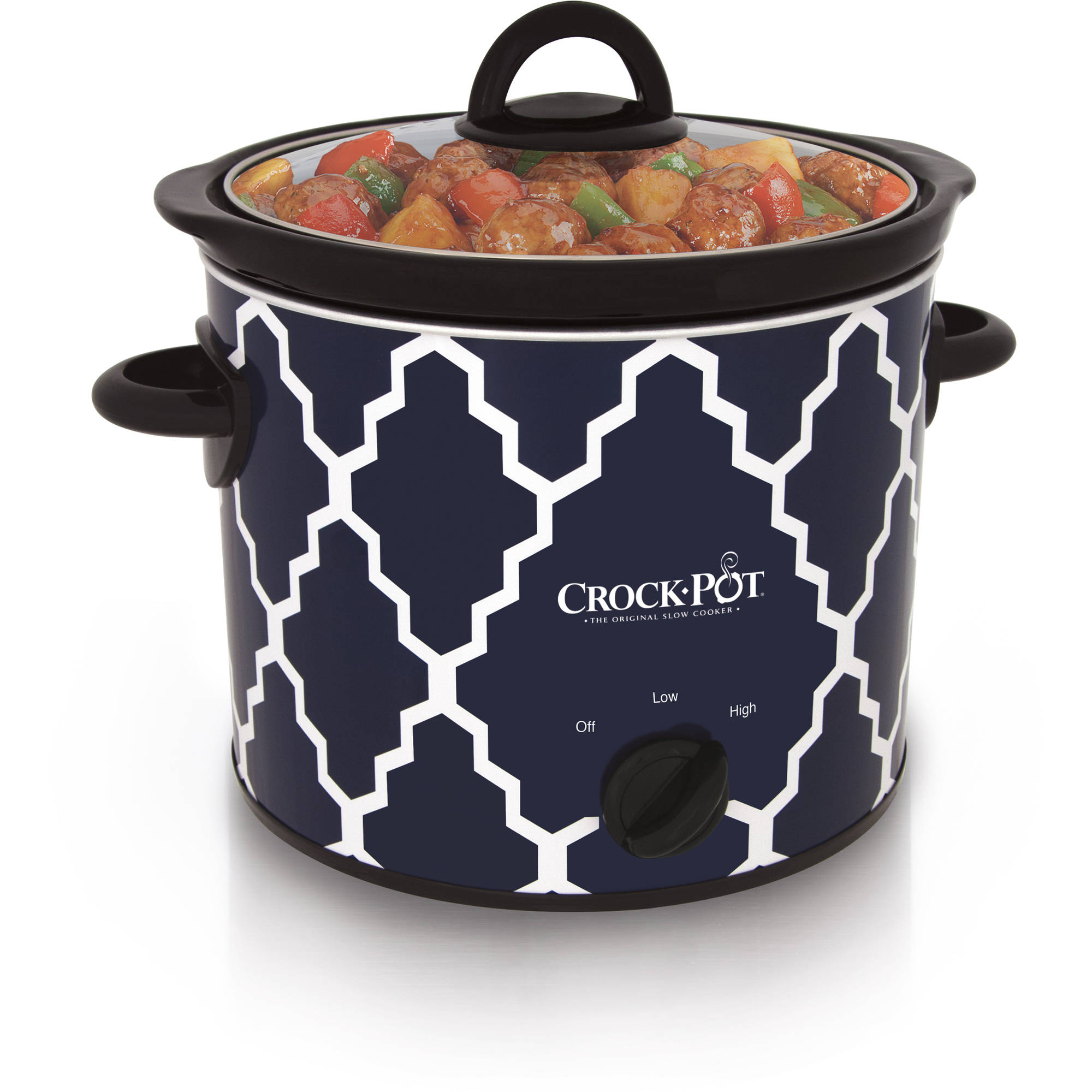 Crock-Pot Manual Slow Cooker, 4-Quart (SCR400-BLT-WM1)