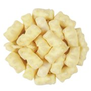 Koppers White Chocolate Covered Polar Gummy Bears, (8 Pounds)