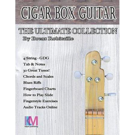 Estate Cigar Box - Cigar Box Guitar - The Ultimate Collection - 4 String : How to Play 4 String Cigar Box Guitar