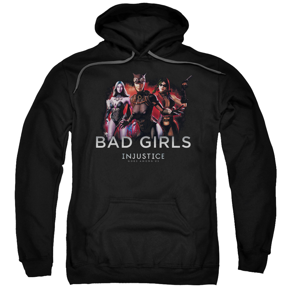 Injustice Gods Among Us Bad Girls Mens Pullover Hoodie