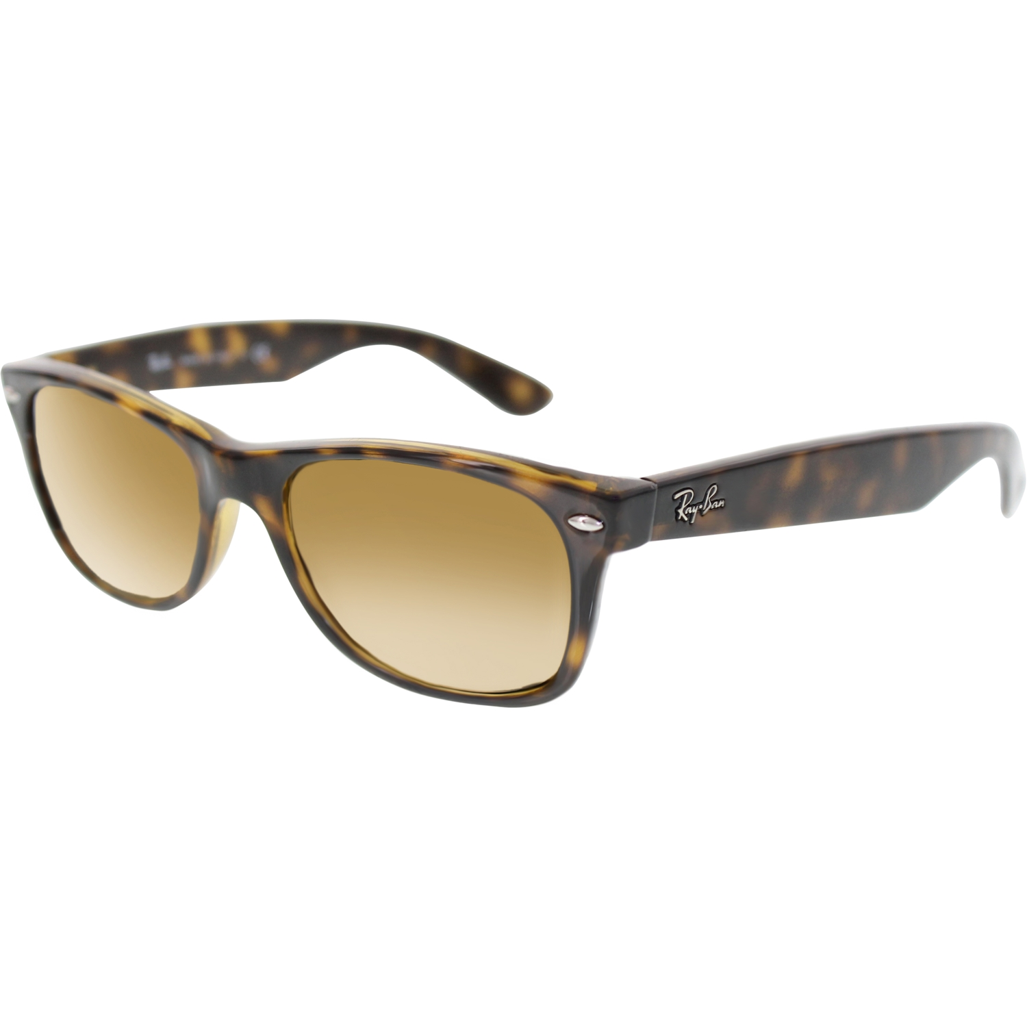 new wayfarer sunglasses 1qul  Ray-Ban Women's New Wayfarer RB2132-710-52 Tortoiseshell Wayfarer  Sunglasses