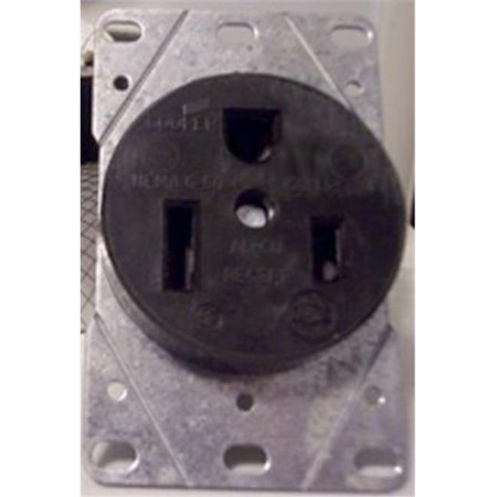 Part 5709N 50A 250V Recept Flush Mount, by Cooper Wiring, Single Item, Great Val