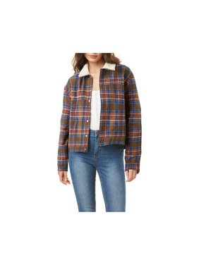 Women's O'Neill Chalet Plaid Jacket Army Green XS