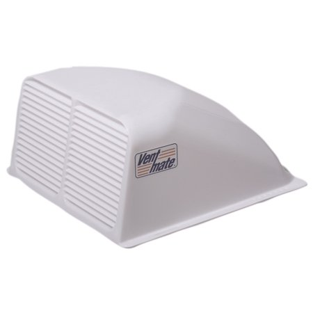 (2) White RV Motor Home Trailer Camper Universal Roof Air Vent Cover Kits ()