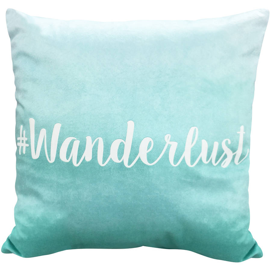 your zone #wanderlust pillow