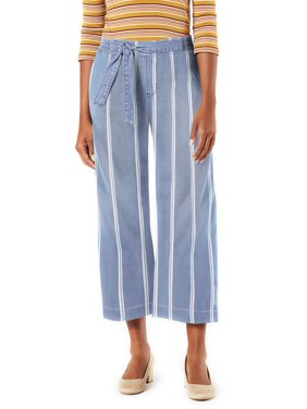 Signature by Levi Strauss & Co Women's Pull-On Wide Leg Capri Pants