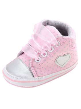 8cb80641d4e0 Product Image Infant Baby Girl Laces Ankle Shoes Soft Bottom Anti-Slip  Prewalker Sneakers