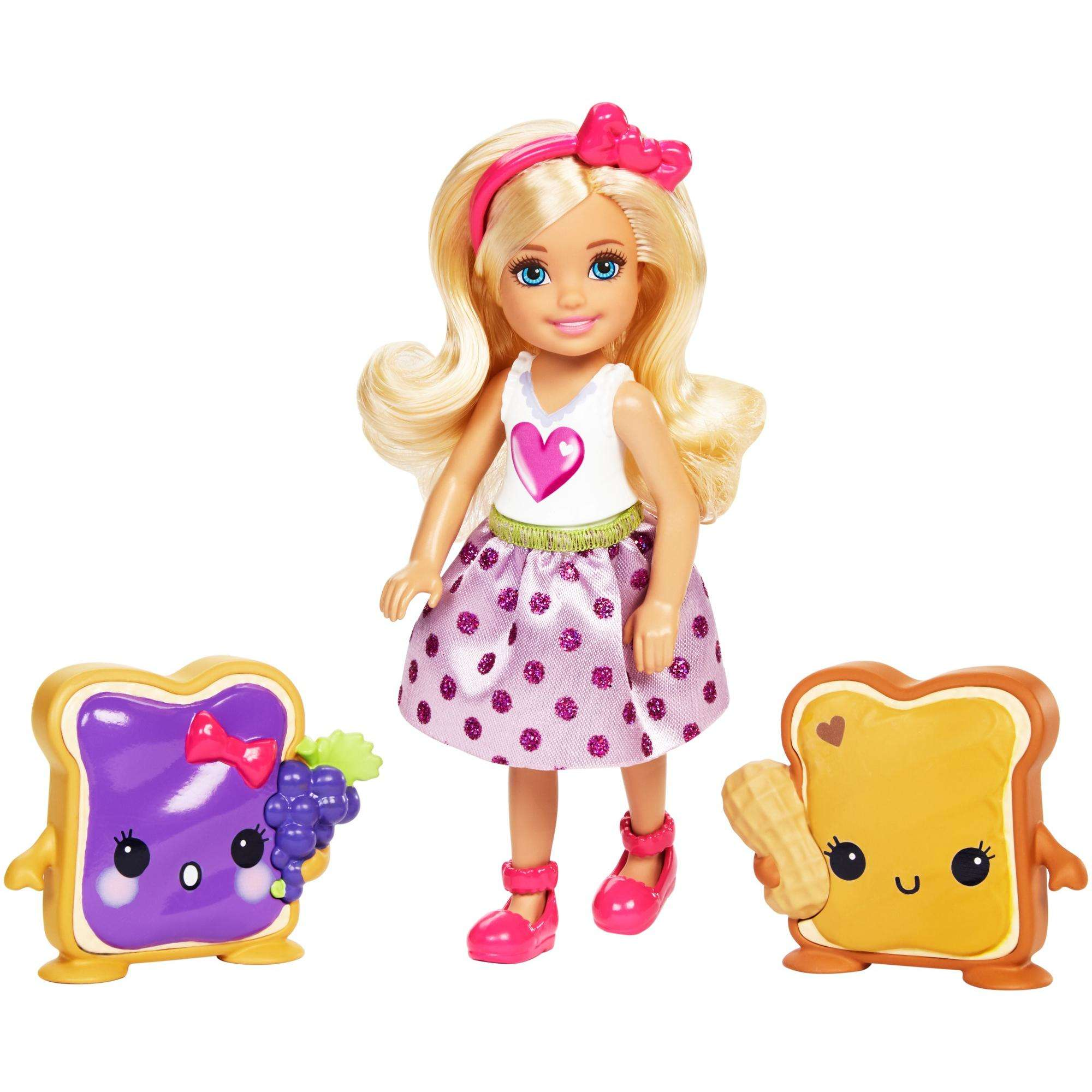 Barbie Dreamtopia Sweetville Chelsea and Sandwich Friend