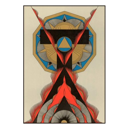 Geometric Art Deco Print Wall Art - Art Deco Walls