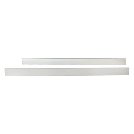 Child Craft Logan Full-Size Bed Rails, Matte White