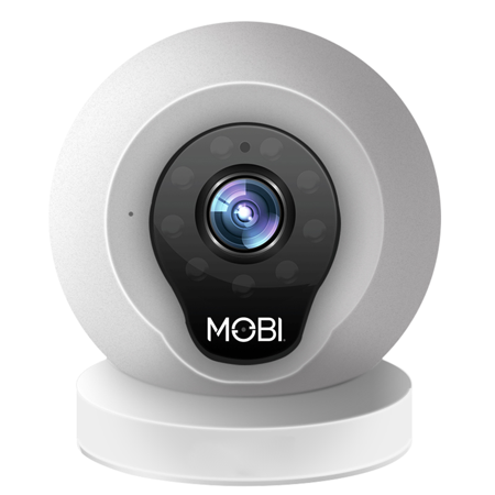 MobiCam Multi-Purpose, WiFi Video Baby Monitor - Baby Monitoring System - WiFi Camera with 2-way Audio, Recording