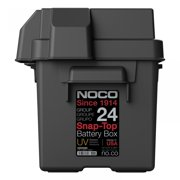 NOCO HM300BK Group 24 Snap-Top Battery Box for Automotive, Marine, and RV Batteries