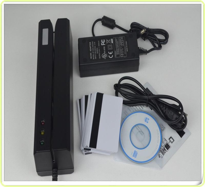 MSRE206 Magnetic Stripe Card Reader Writer Encoder Credit...