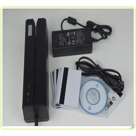 Msre206 Magnetic Stripe Card Reader Writer Encoder Credit Magstrip Msr605 Msr206