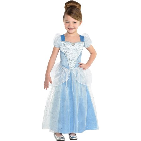 Costumes For Cinderella (Suit Yourself Classic Cinderella Halloween Costume for Girls,)