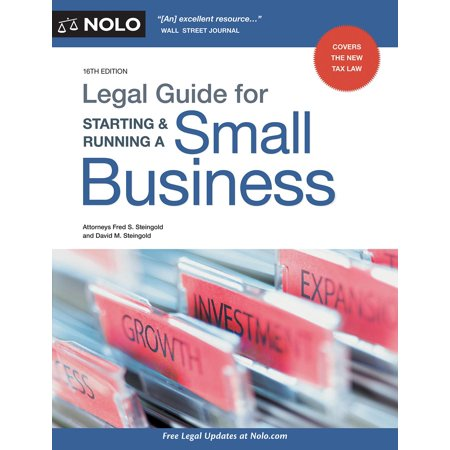 Legal Guide for Starting & Running a Small (Legal Environment Of Business In India Notes)