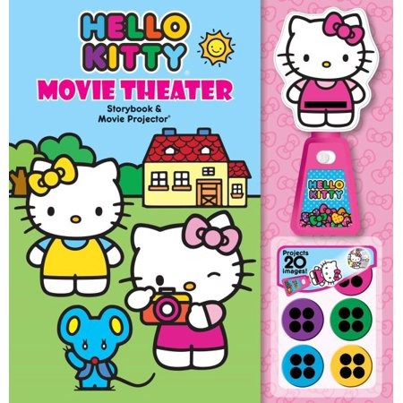 Hello Kitty Movie Theater Storybook + Movie Projector