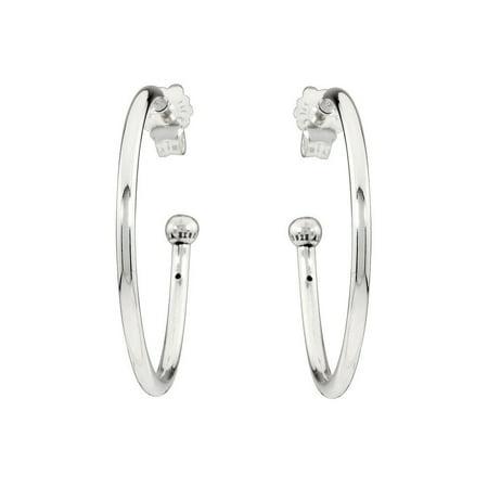 Pandora Essence Hoops of Versatility Small Silver Hoop Earrings (Small Essence)