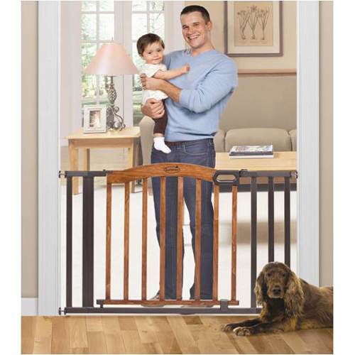 "Summer Infant Decorative Wood Baby Gate, 36""-60"""