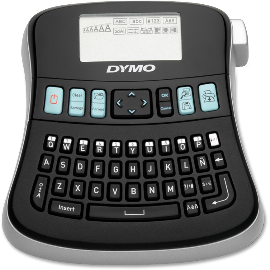 Dymo, DYM1738976, LabelManager 210D Kit, 1 Each, Black