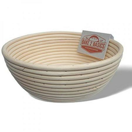 Banneton Bread Proofing Basket - (Brotform) - Bake Beautiful Artisan Bread In This 9 Inch Rattan Basket - Baskets In Bulk
