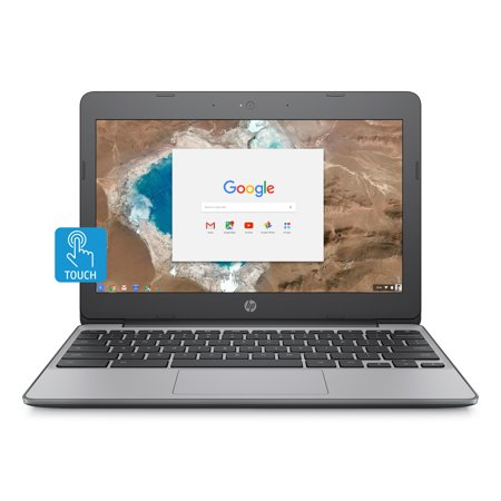 "HP Chromebook 11, 11.6"" HD IPS UWVA Corning Gorilla Glass Touch Display, Intel Celeron N3060, Intel HD Graphics, 4GB SDRAM, 16GB eMMC, 11-v020wm"