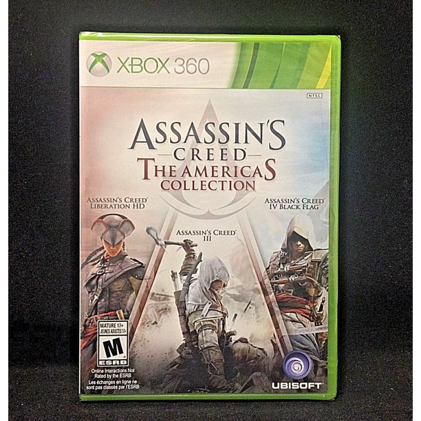 Assassin S Creed The Americas Collection Xbox 360 Walmart Com