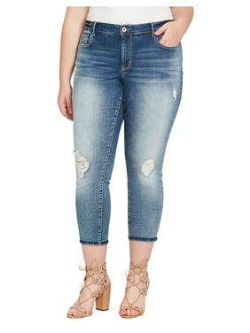 34e04bad9b0 Product Image Womens Plus Stretch Denim Jeans 22W. Jessica Simpson