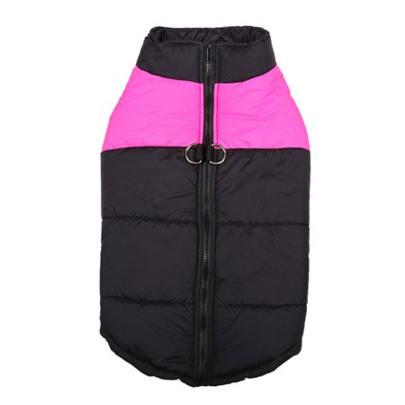 Padded Cold Winter Warm Vest Jacket Pet Clothes For Medium/Large Dogs ()