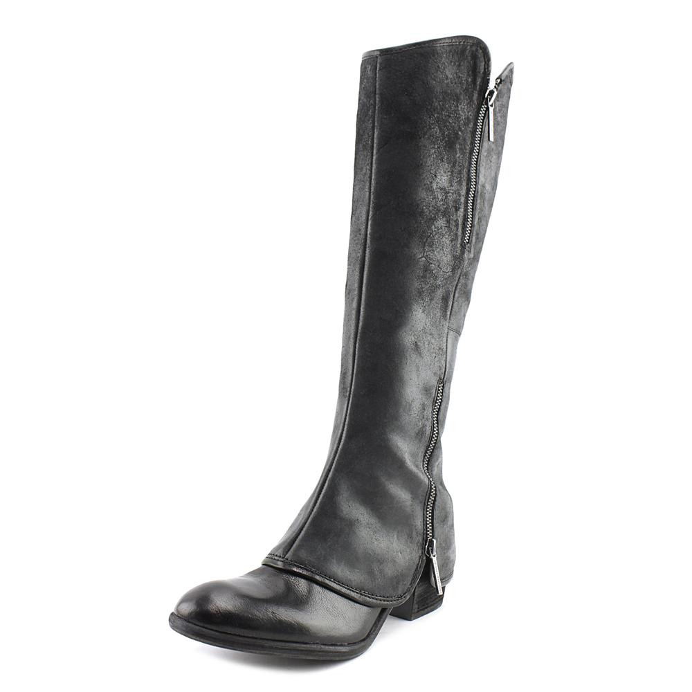 Click here to buy Donald J Pliner Devi 5 Women Round Toe Leather Black Knee High Boot by Donald J Pliner.