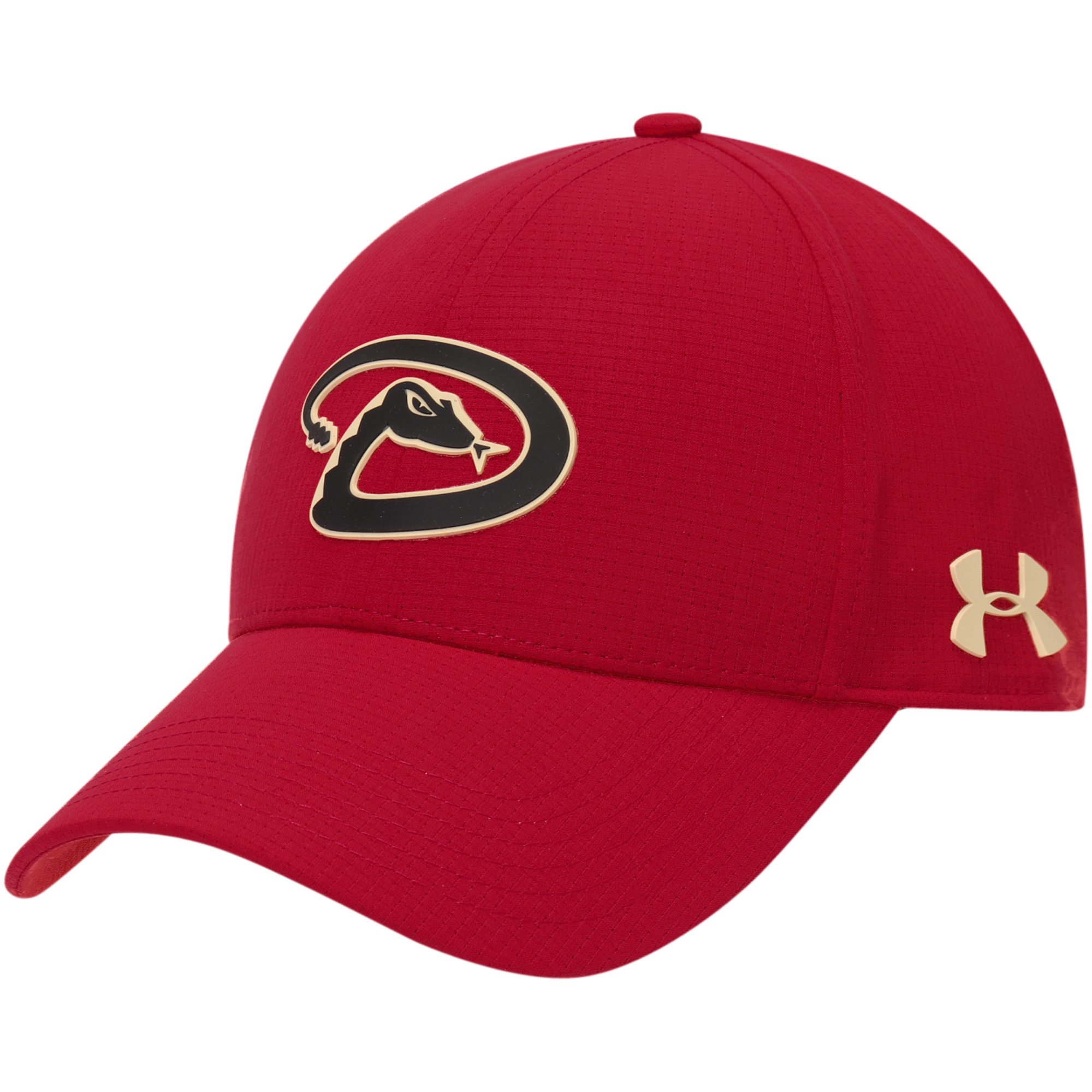 Arizona Diamondbacks Under Armour MLB Driver Cap 2.0 Adjustable Hat - Red - OSFA