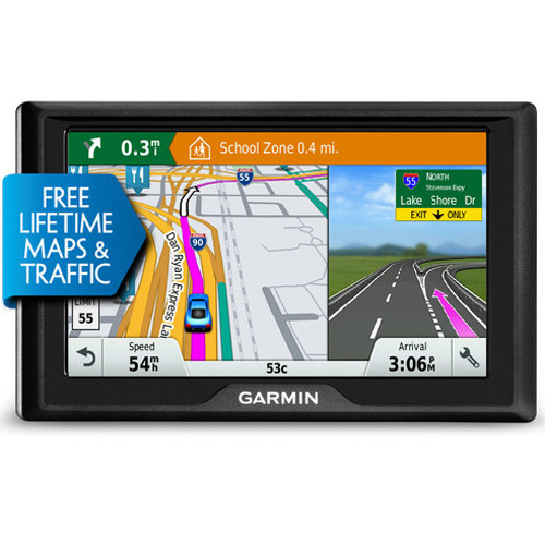 Refurbished Garmin Drive 50LMT (US & Canada) 5 Inches GPS w/ Free Lifetime Maps & Traffic Updates