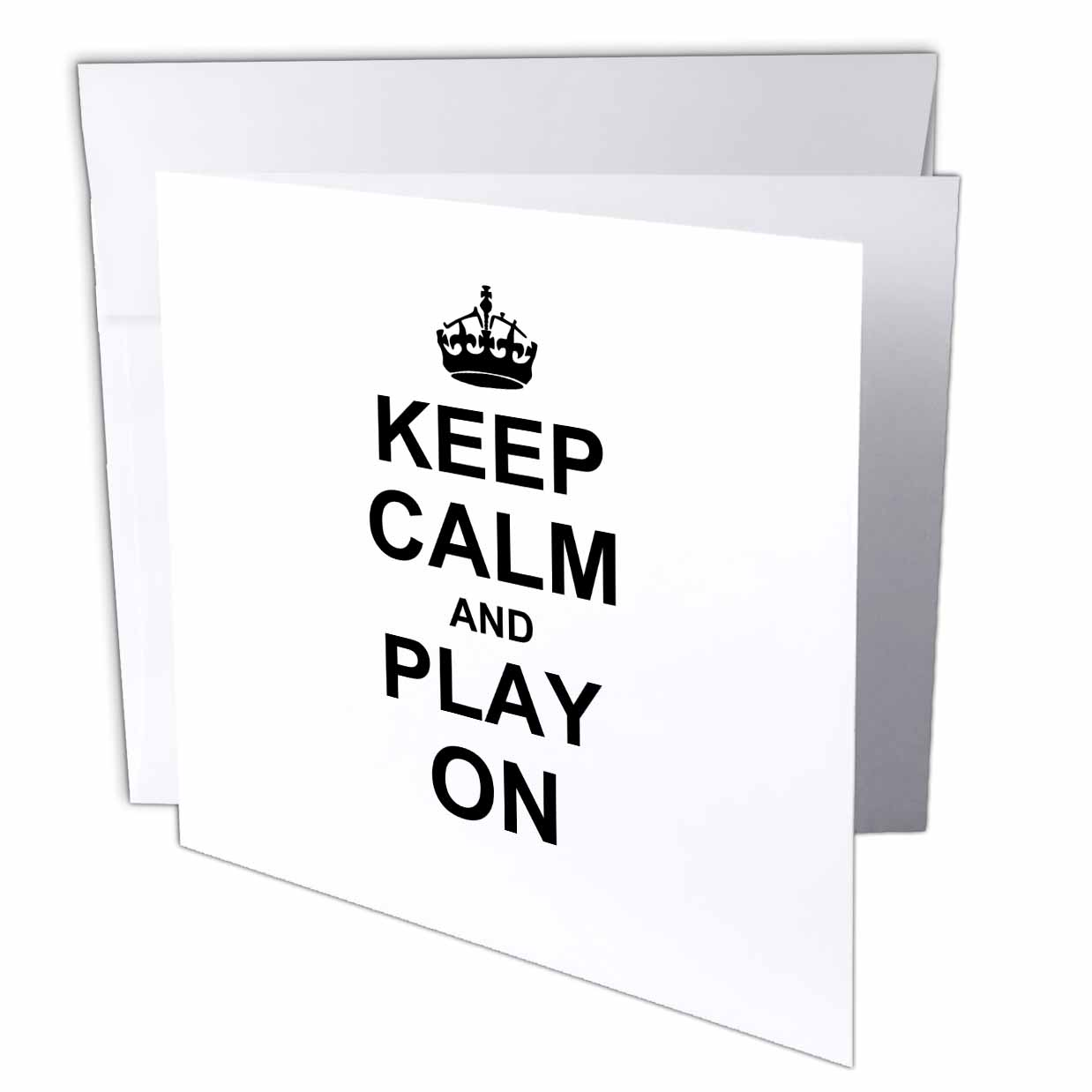 Supplier Generic 3drose Keep Calm And Play On  -  Carry On Gaming  -