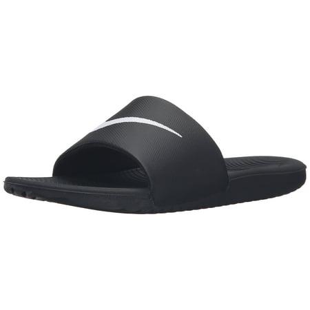 ff2dc780 nike men's kawa slide sandal, black/white, 13 d(m) us - Walmart.com