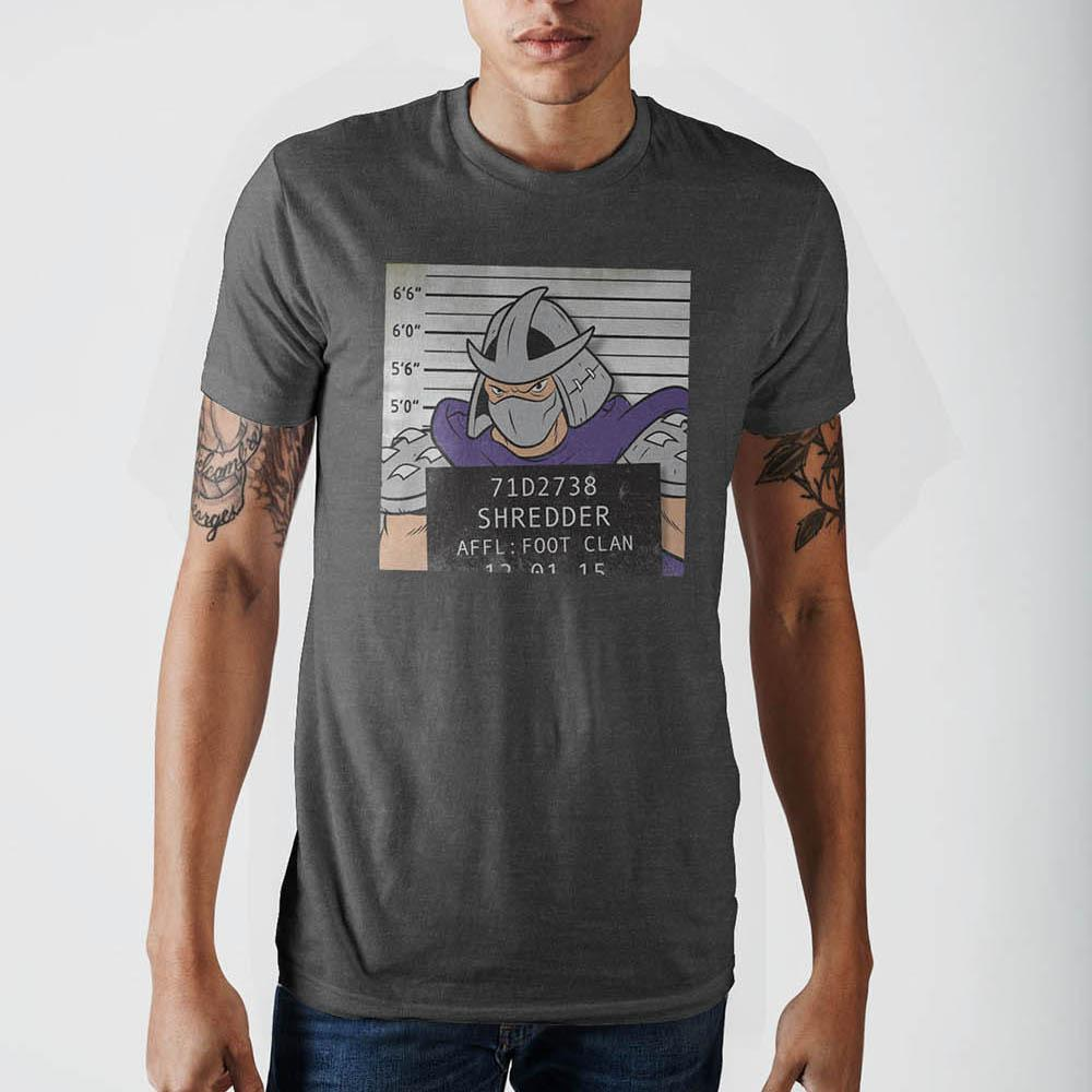 Teenage Mutant Ninja Turtles Shredder Mug Shot T-Shirt XX-Large