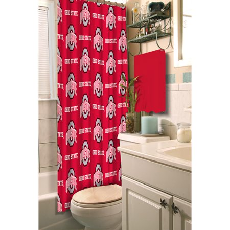 Ohio State University Decorative Bath Collection Shower