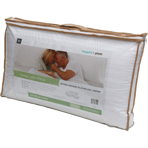 Leggett & Platt Home Textiles Talalay Latex Firm Pillow, Multiple Sizes