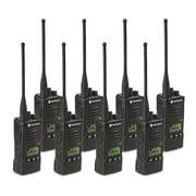 Motorola RDU4160D (8 Pack) RDX Business Series Two-Way UHF Radio w/ 16 Channel