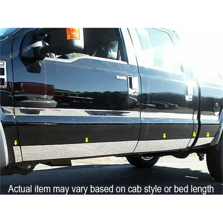 Fits 1999-2007  FORD F250 & F350 SUPERDUTY 4-door, Crew Cab, Long Bed, Dually (5.5