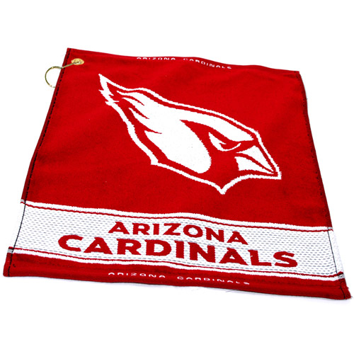Team Golf NFL Arizona Cardinals Jacquard Woven Golf Towel
