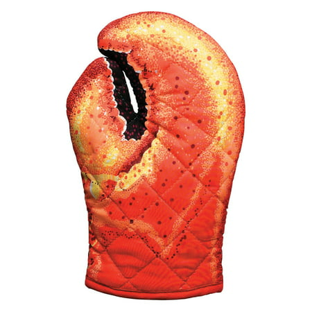 Check Oven Mitt (Boston Warehouse Lobster Claw Kitchen Oven Mitt)