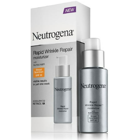 - Neutrogena Rapid Wrinkle Repair Moisturizer, SPF 30, 1 oz (Pack of 2)