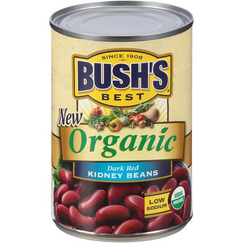 Bush's Best Organic Kidney Beans, 15 oz by Bush Brothers & Co.