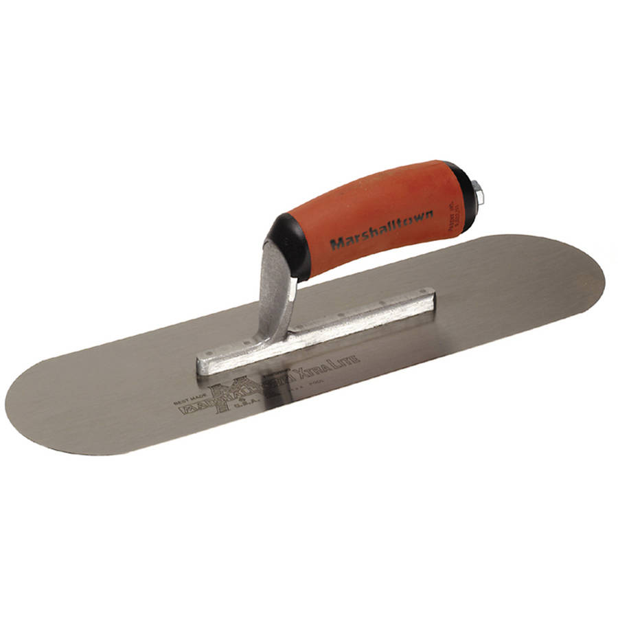 "Marshalltown SP10SD 10"" x 3"" Carbon Steel Pool Trowel by Marshalltown"