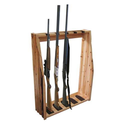 5-Gun Floor Rack